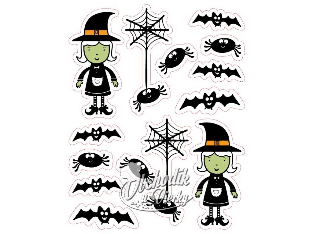 Halloween 1 Dekoracia Z Jedlej Oblatky 14 Ks Obchodik U Vierky