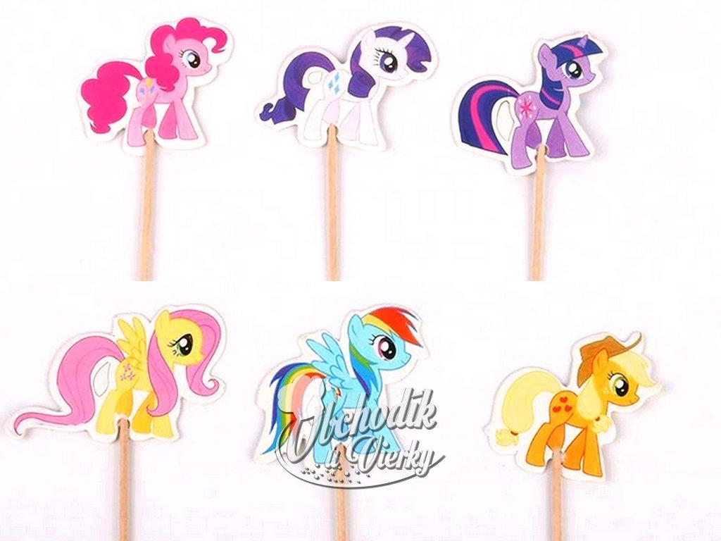 My Little Ponny zapichovátka 6 ks