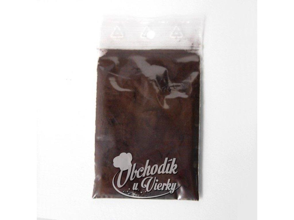 Jedlá farba hnedá čokoládová prášková