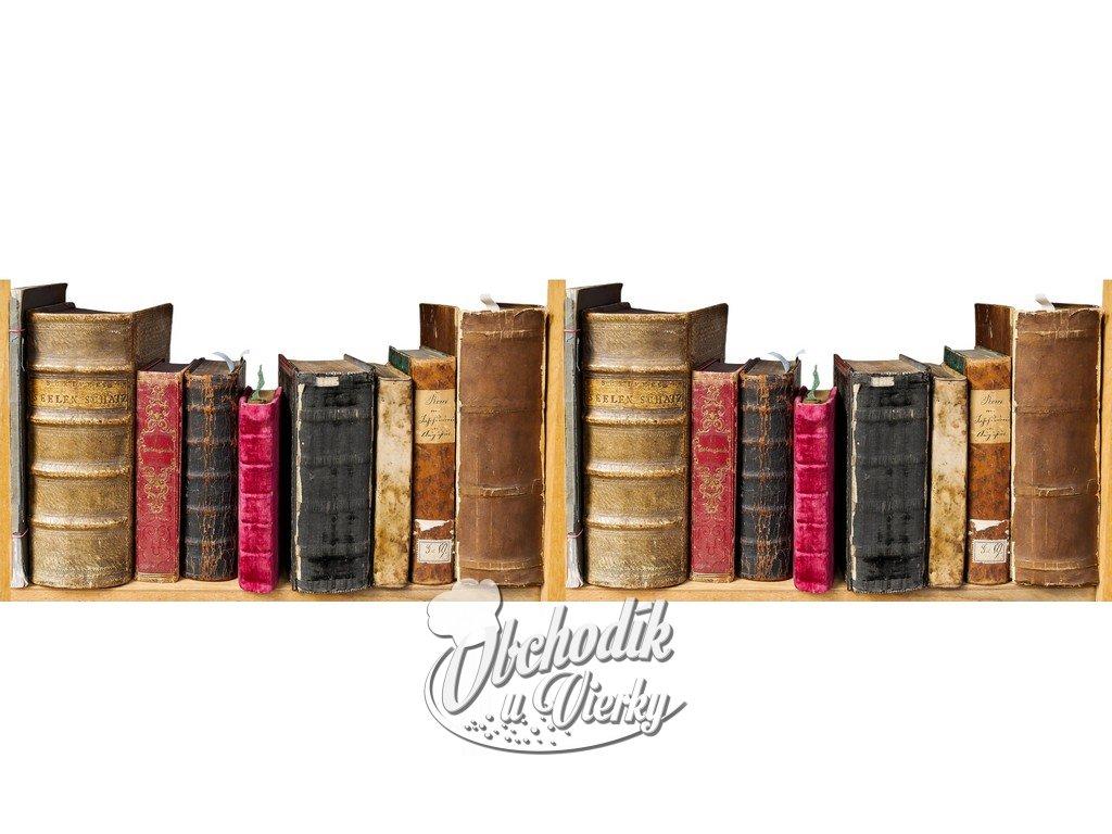 Obvodová dekorácia knižnica