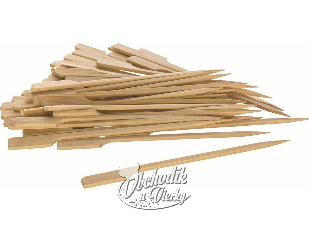 Bambusové napichovátka na jednohubky 50 ks