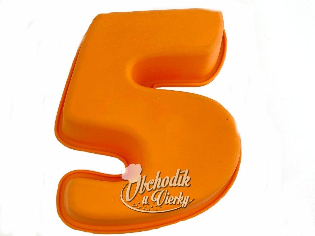 Silikonová forma číslo 5