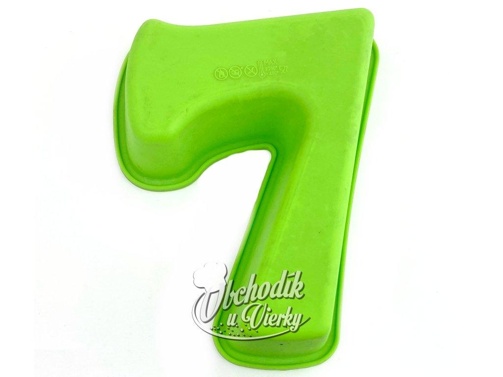 Silikonová forma číslo 7