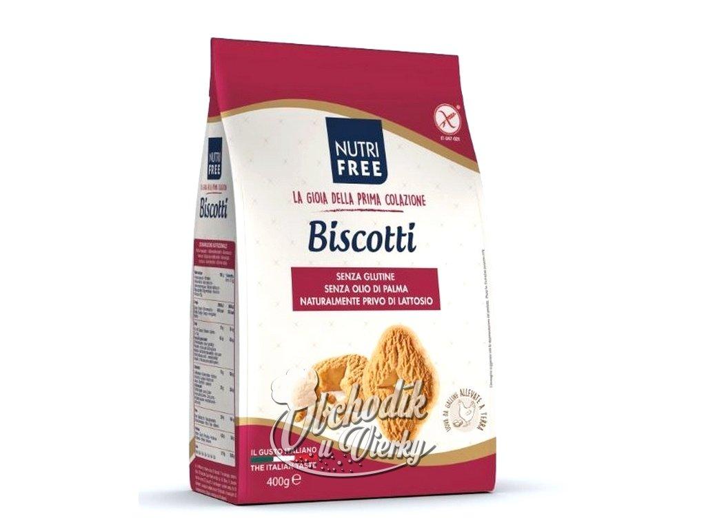 Bezlepkové sušienky Biscotti NUTRI FREE 400g