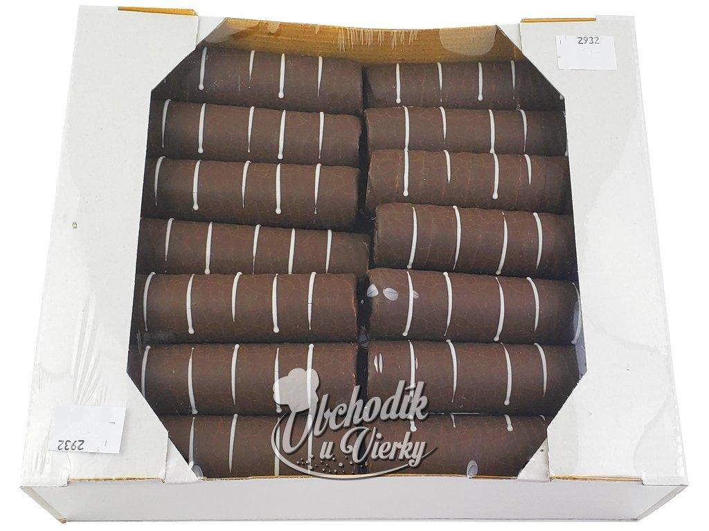 Čokoládové trubičky na plnenie 28 ks