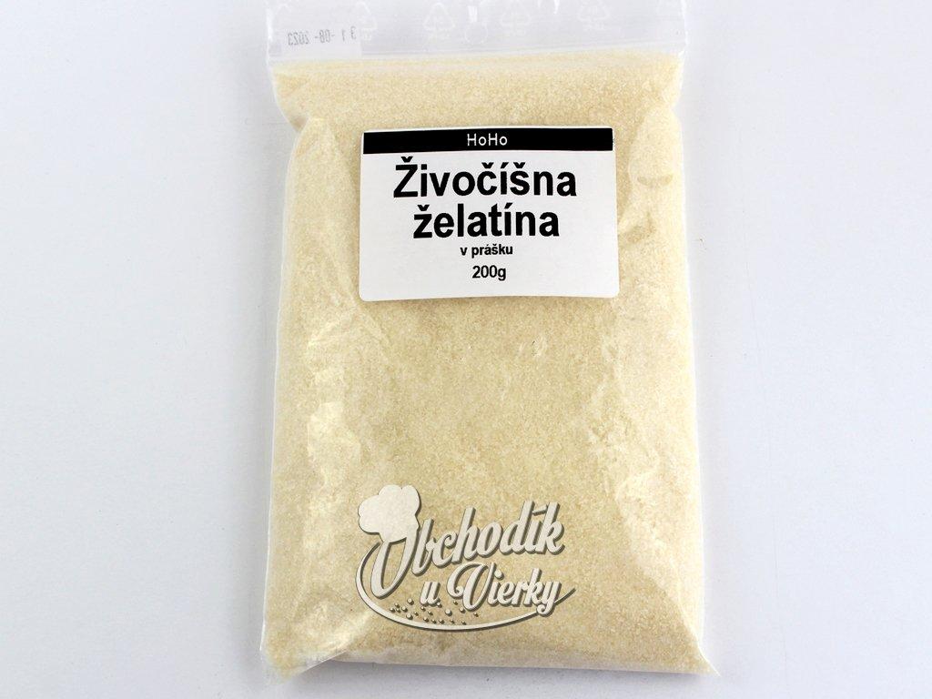 Želatina živočíšna 200 g