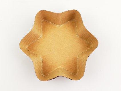 HVIEZDA papierová forma na pečenie 125x80/3,5cm