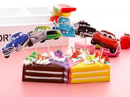 Autíčka (Cars) a McQueen zapichovátka