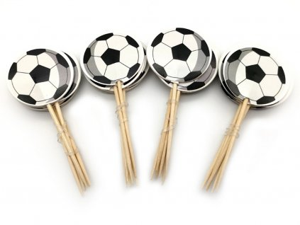 Futbalové lopty zapichovátka 6 ks