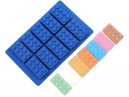 LEGO silikónová forma (obdĺžnik)