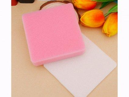 Špongie na sušenie modelovaných ozdôb 2 ks (ružová, biela) 1