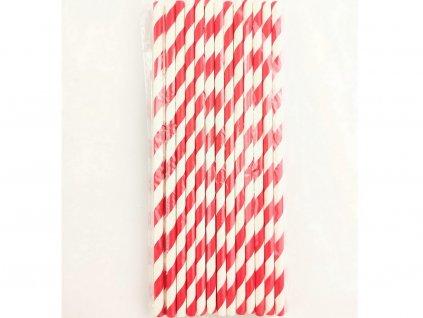 Ekologické papierové slamky 25 ks rôzne vzory 1