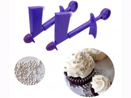 Aplikátor guličiek na cukrárske výrobky 1