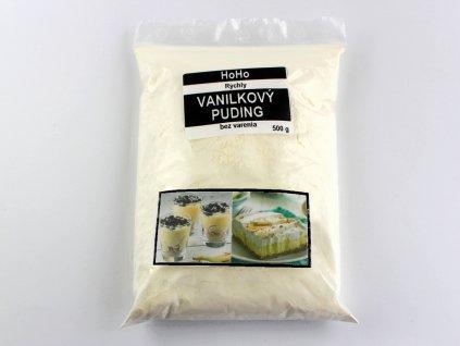 Rýchly a chutný vanilkový puding bez varenia 500g HoHo