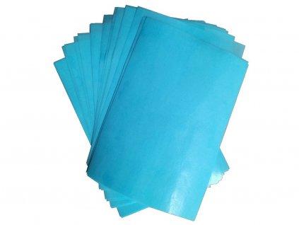 Jedlá oblátka papier MODRÝ na vysekávanie (Craft Cutting) 5 ks