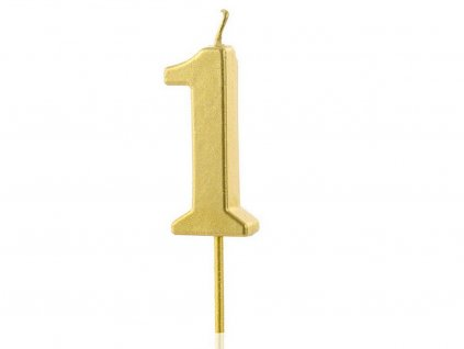Zlatá sviečka číslo 1