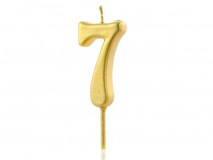 Zlatá sviečka číslo 7