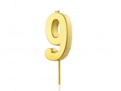Zlatá sviečka číslo 9