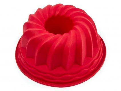 BÁBOVKA 4 silikónová forma červená