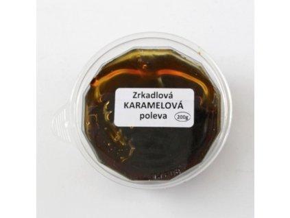 Zrkadlová karamelová poleva 200g