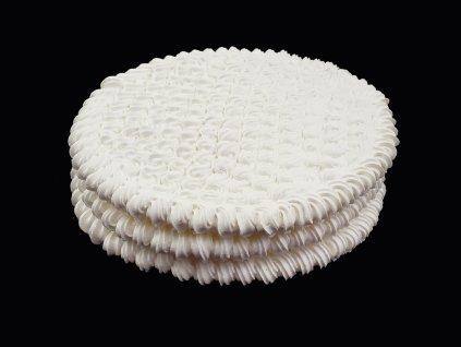 Penové tortové pláty kruhové O 23 cm (3 ks)