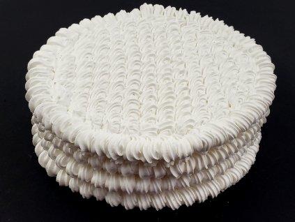 Penové tortové pláty kruhové O 30 cm (4 ks)