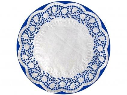 Ozdobný papier pod tortu okrúhly O 36 cm (6 ks)