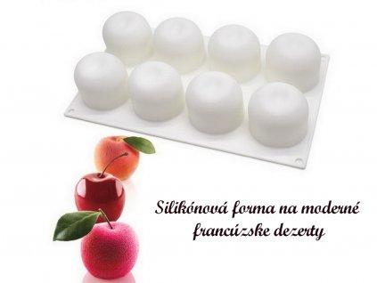 Jablká silikónová forma na moderné francúzske dezerty