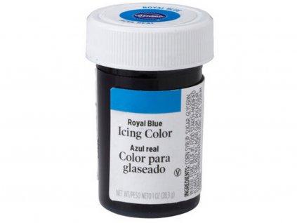 Jedlá farba gélová WILTON royal blue