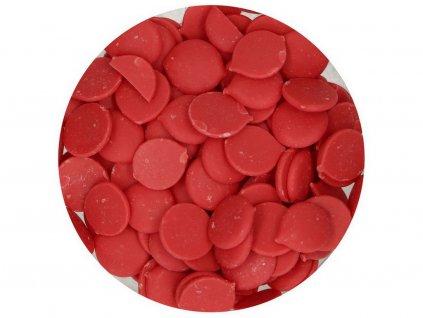 Farebná čokoláda ČERVENÁ Deco Melts 250g 2