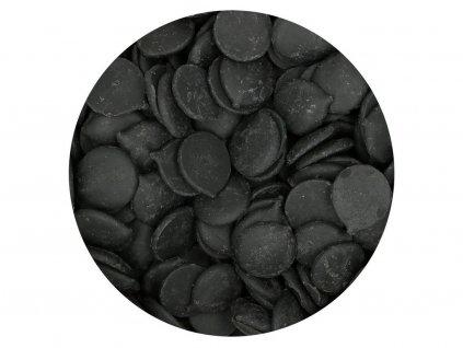 Farebná čokoláda ČIERNA Deco Melts 250g 2