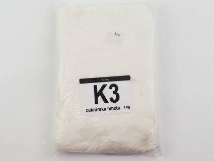 K3 Poťahovacia a modelovacia hmota cukrárska biela 1 kg HoHo
