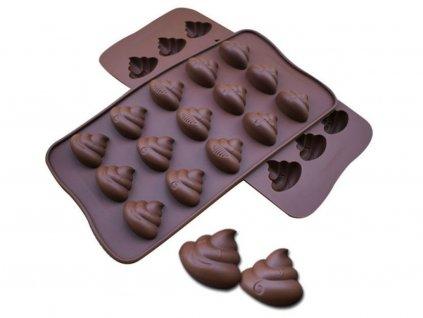 HOVIENKA silikónová forma na čokoládu 1