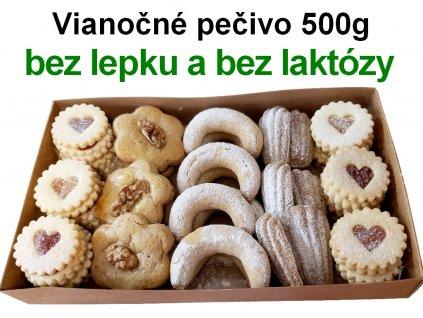 Vianočné pečivo bez lepku a bez laktózy 500g 1