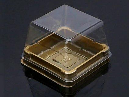 Krabička na mini dezert 10 ks ZLATÁ