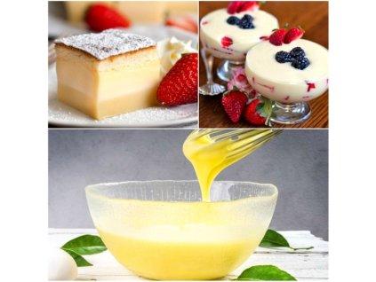 Rýchly vanilkový puding bez varenia