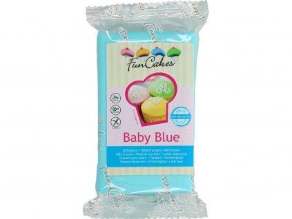 Poťahová a modelovacia hmota FunCakes 250g SVETLO MODRÁ Baby Blue
