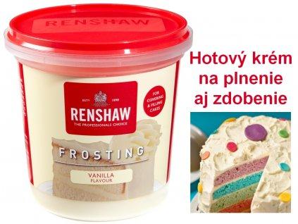 Hotový krém Renshaw Frosting Vanilla 400g