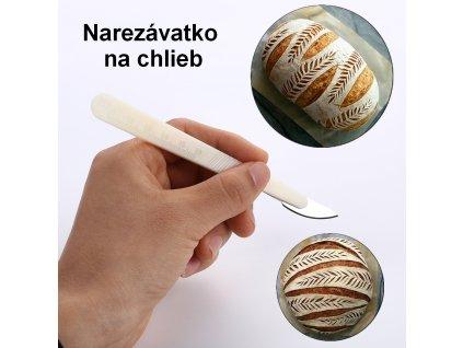 Narezávatko s oblou čepeľou (s vyznačenými centimetrami) 1