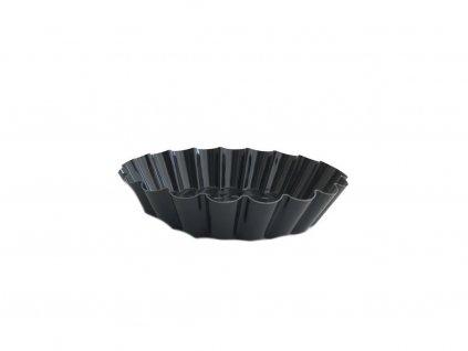 Čierna kovová formička na TARTALETKY