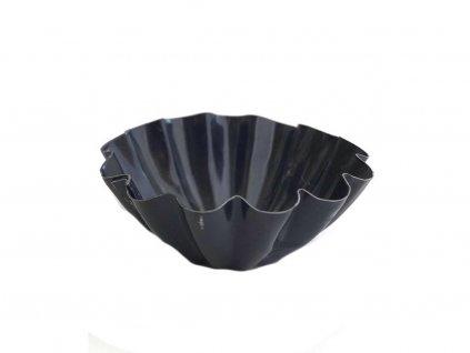 Čierna kovová formička na MINI KOŠÍČKY