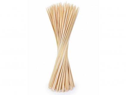 Bambusové špajdle tenké 15 cm 90 ks