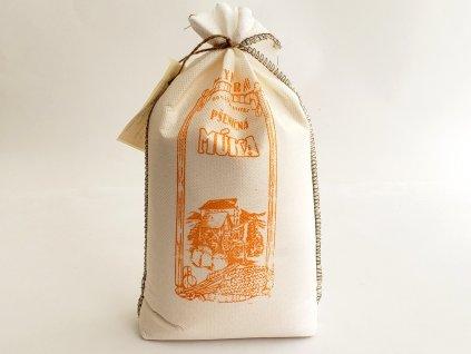 Múka pšeničná polohrubá tmavá 1,5 kg RUSTIKÁLNE VRECKO