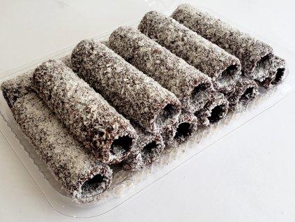Čokoládové trubičky s KOKOSOM na plnenie 13 ks 1
