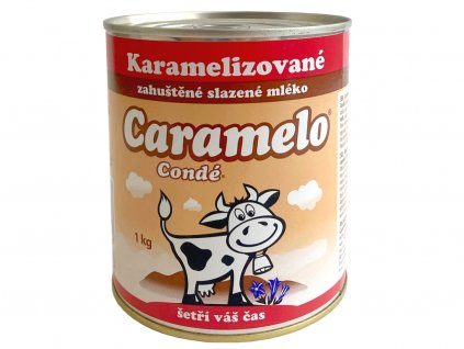 Zahustené kondenzované mlieko KARAMELIZOVANÉ 1 kg