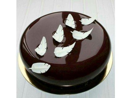 Zrkadlová čokoládová poleva tmavá 1kg