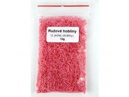 Ružové hobliny z jedlej oblátky 10g