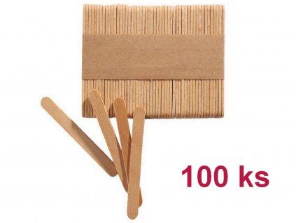 Drevené MINI paličky na nanuky 7 cm, 100 ks 1