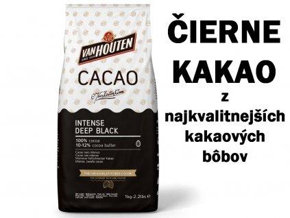 Čierne kakao Intense Deep Black VAN HOUTEN 1