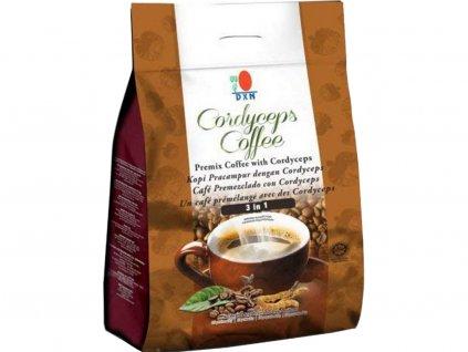 DXN Cordyceps Coffee káva 3 v 1 s hubou Cordyceps 1